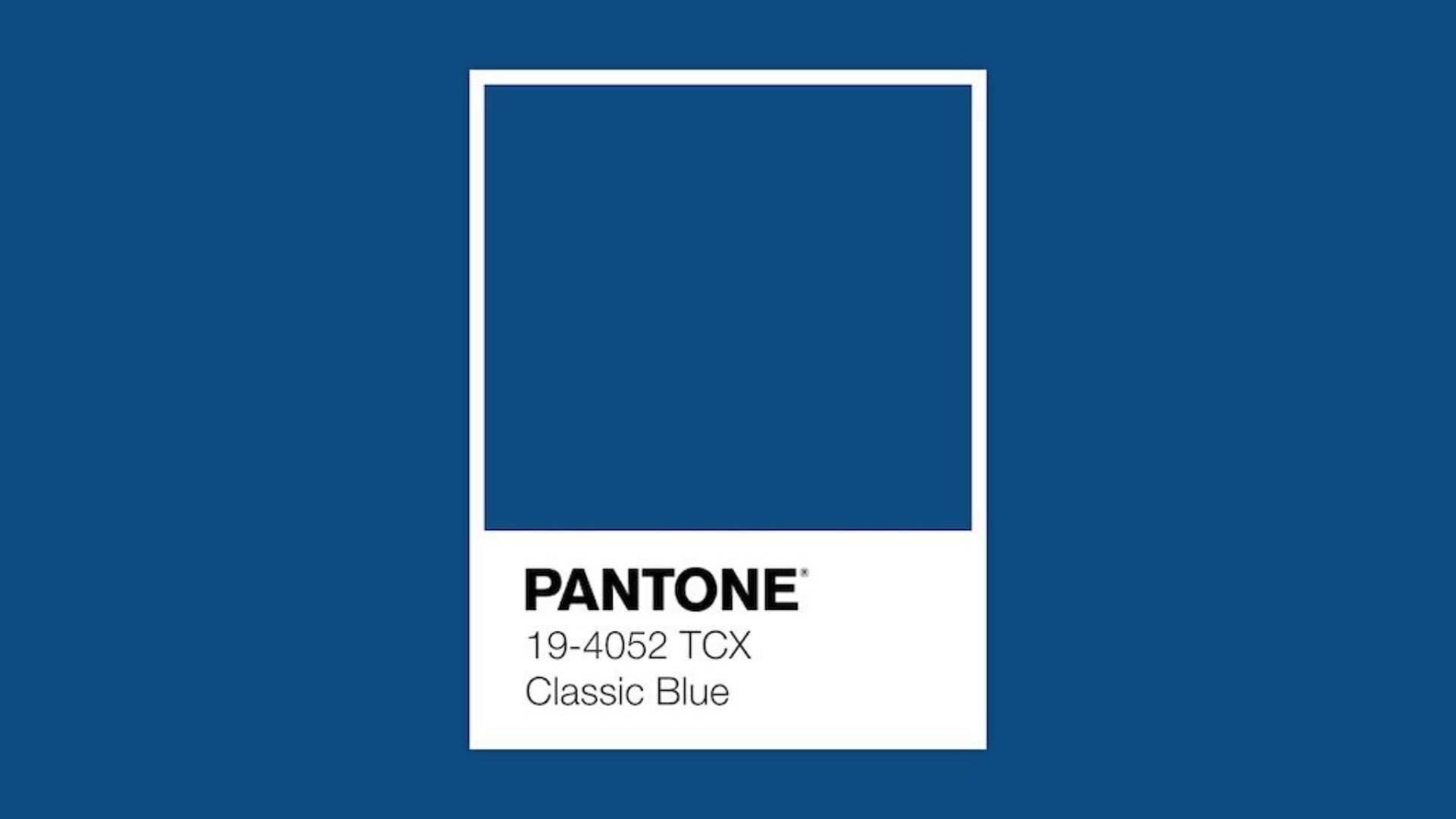 classic blue 2020